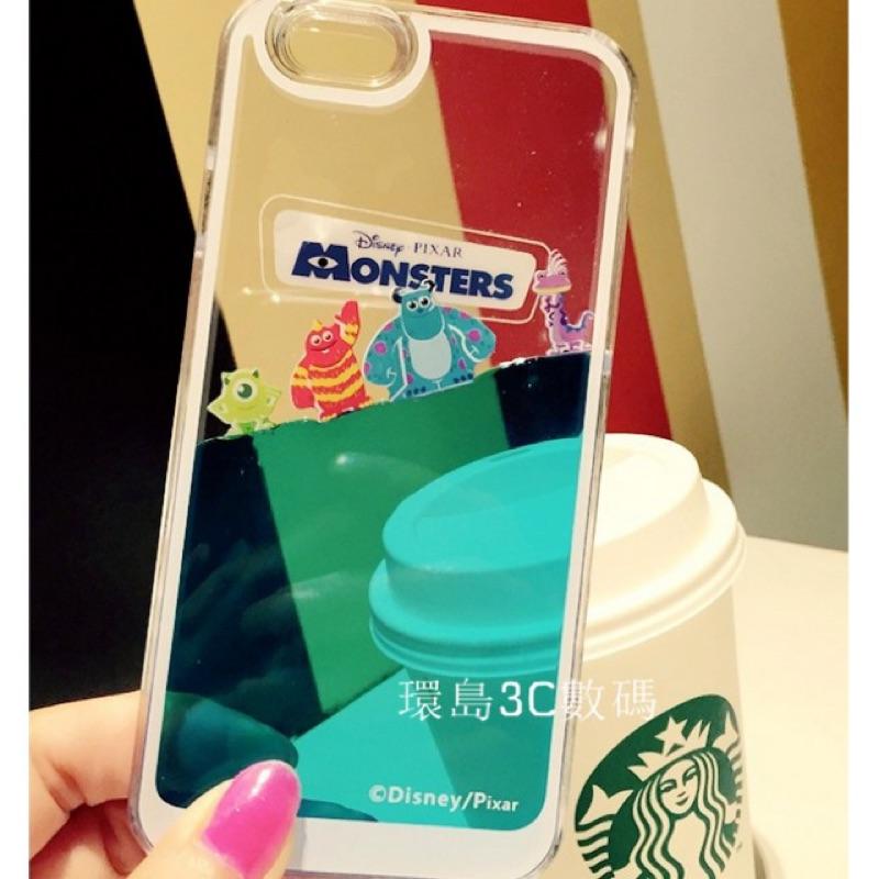 液體iphone7 7plus 6S plus Disney 韓國怪獸大學三眼仔米奇