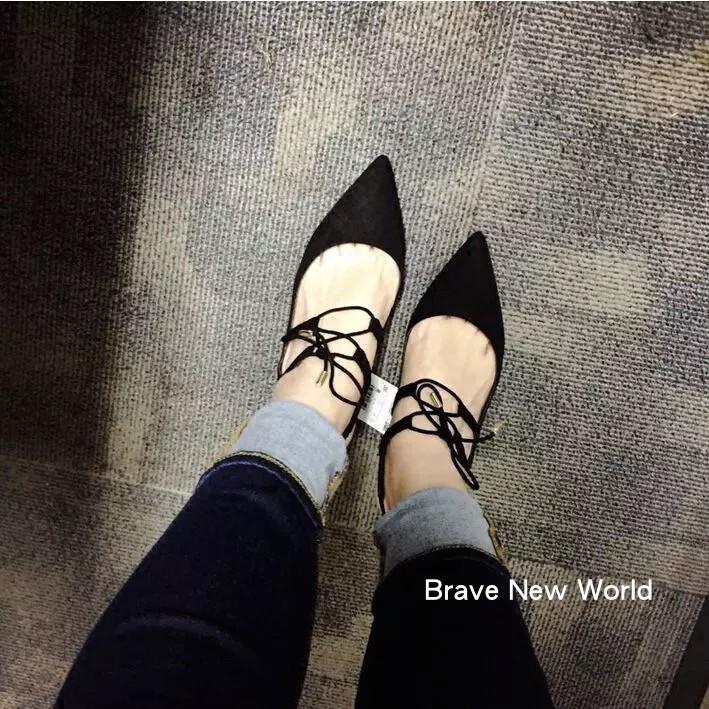 Zara 款淺口粗跟中高跟繫帶蝴蝶節綁帶涼鞋尖頭鞋34 40