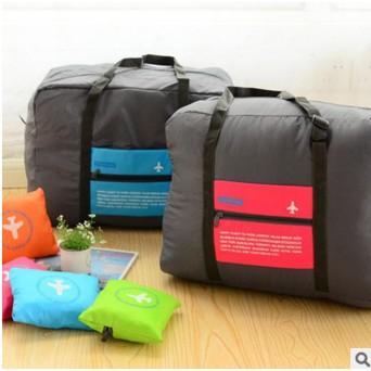 \o /Hey Shop 防潑水折疊式拉桿手提袋行李袋行李箱收納折疊收納大容量行李桿旅行袋