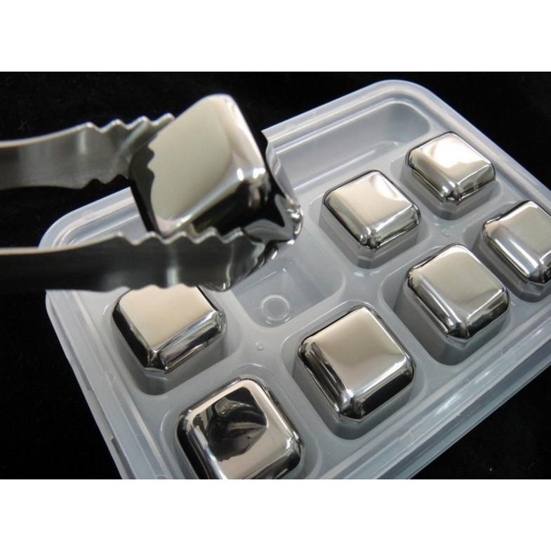 夏日抗暑304 不鏽鋼速凍冰塊粒金屬冰粒塊8 粒裝