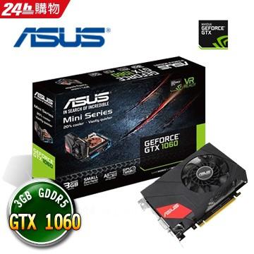 ASUS 華碩MINI GTX1060 3G MINI GTX1060 GTX 1060