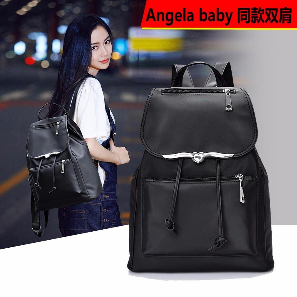 2016 簡約 Angela baby 同款英倫風輕 氣質雙肩包