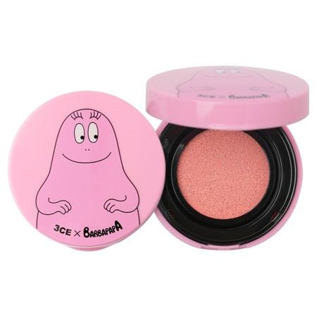 3CE x Barbapapa 超自然水嫩氣墊腮紅PINK 粉紅色韓國
