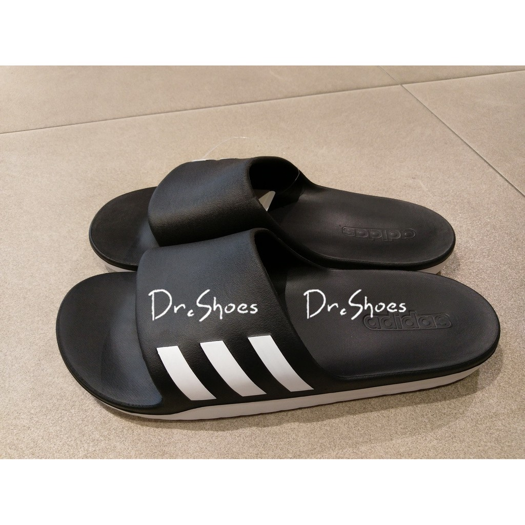 ~Dr Shoes ~Adidas Aqualette Cloudfoam Slides