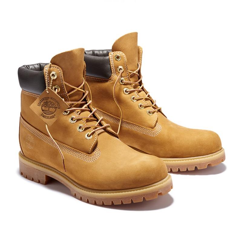 Timberland 男款小麥黃經典防水6吋靴|10061713