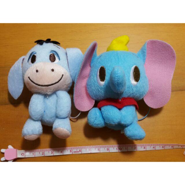 迪士尼disney 帶回絕對 娃娃玩偶吊飾超可愛小熊維尼驢子屹耳小飛象