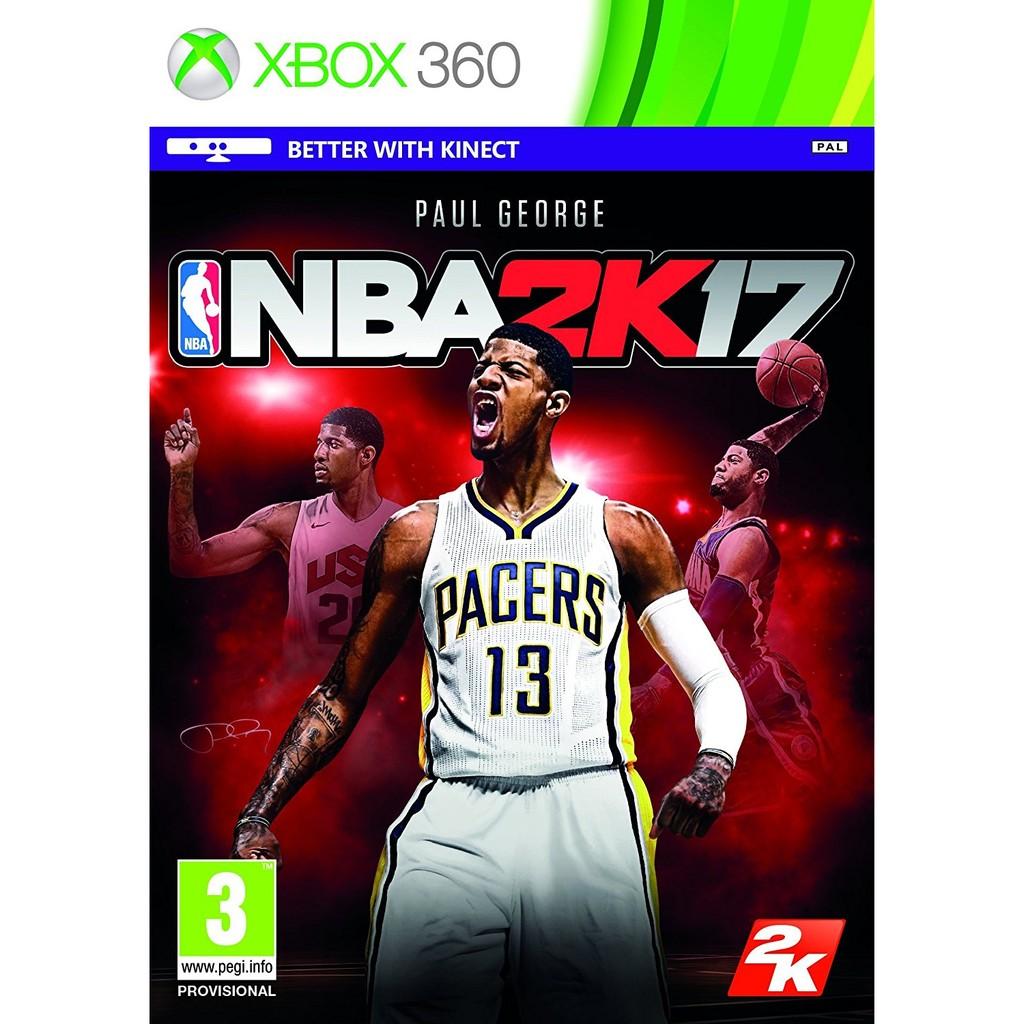 未拆XBOX 360 NBA 2K17 中文英文日文版勁爆美國職業籃球NBA2K17