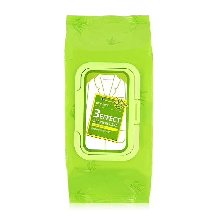◆86 小舖◆韓國DEWYTREE 綠茶溫和保濕深層卸妝巾大包520g 100 抽~ROK