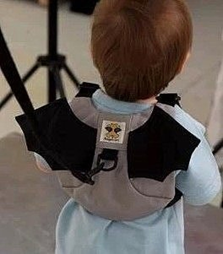 ~A180 ~ !寶寶學步帶嬰兒學步帶防走失帶蝙蝠型小背包