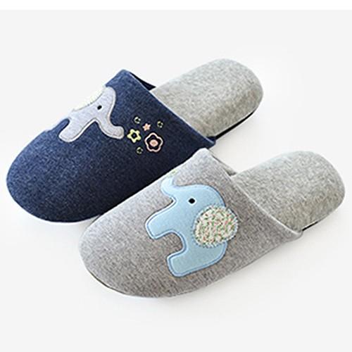 可愛大象室內家居拖鞋防滑地板拖鞋