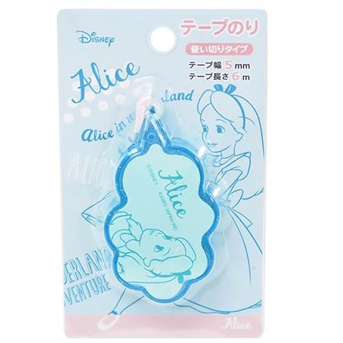 ~FollowV ~ Disney 迪士尼~ ~童話愛麗絲夢遊仙境輕巧便利修正帶式雙面膠帶