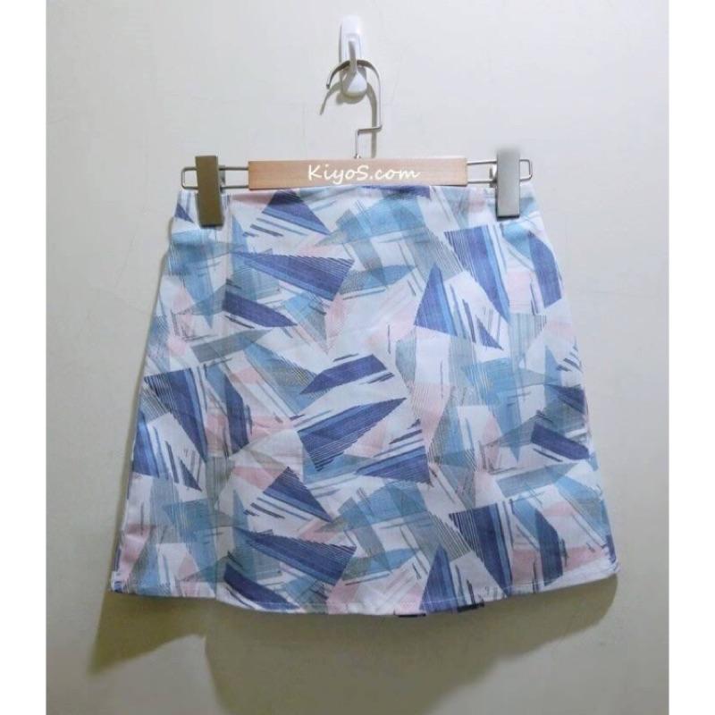 SALE 不規則色塊窄裙