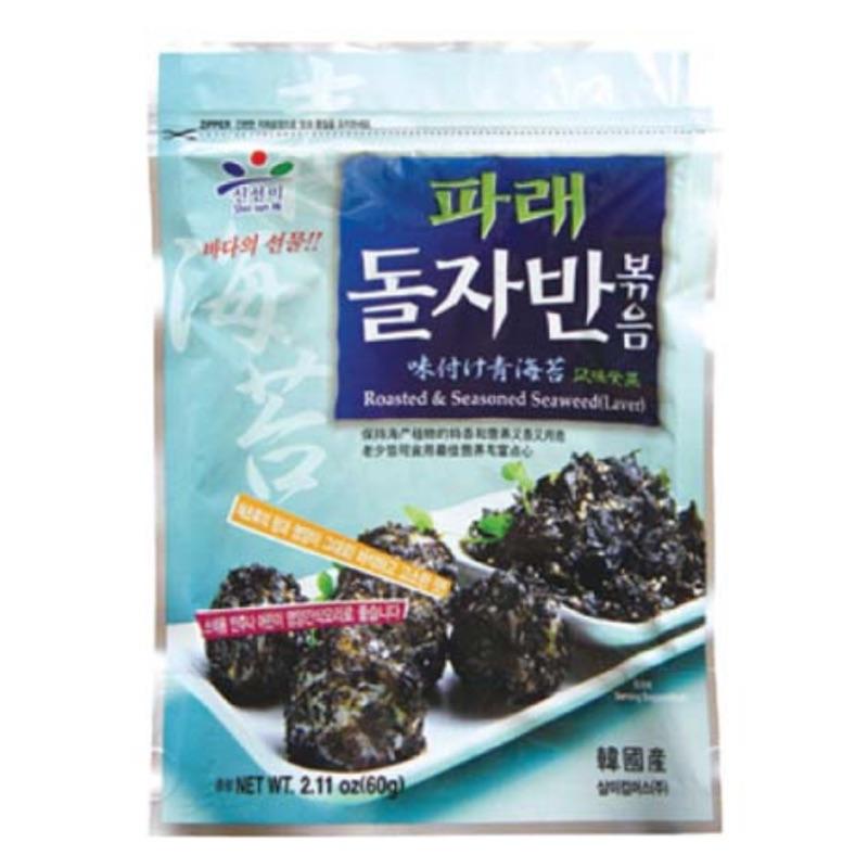 韓國新鮮味傳統海苔酥(60g )파래돌자반