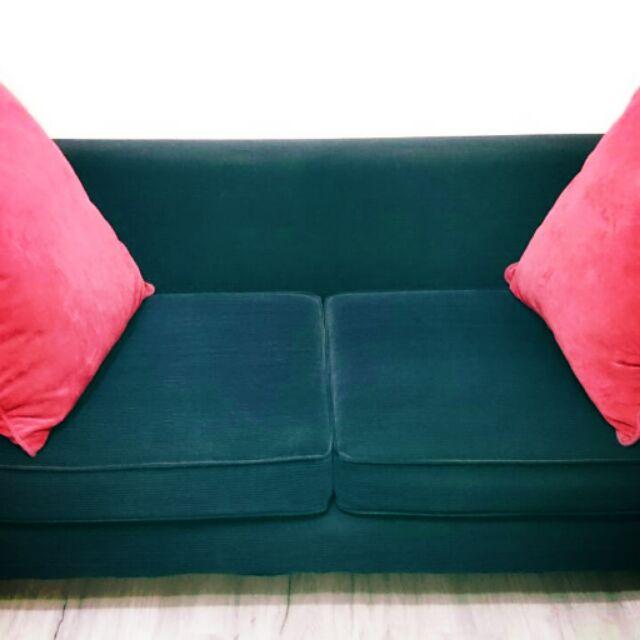 精美深藍色絨布沙發