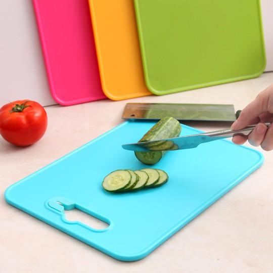 伊觸園 廚房水果切菜板砧板案板加厚塑料切肉板分類輔食板菜板