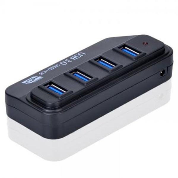 高速USB 3 0 HUB 4 Port 4 埠集線器高速充電傳輸內附變壓器USB HUB