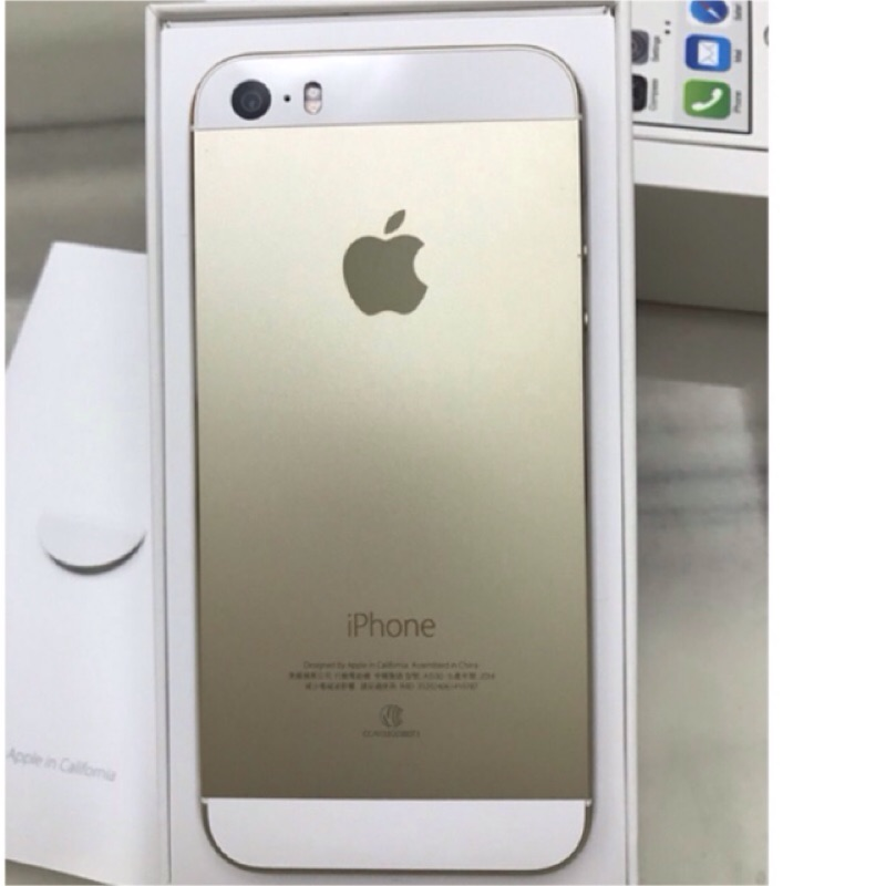 iphone5S 32g 金色9 9 成新幾乎無外傷
