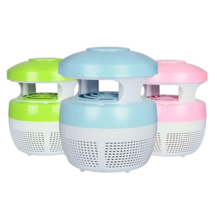 蚊子剋星超靜音USB 供電光觸媒吸入性靜音捕蚊器滅蚊器光觸媒捕蚊燈