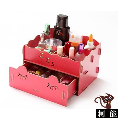 歐式DIY 木質首飾收納盒~3666 ~ 桌面化妝品收納盒