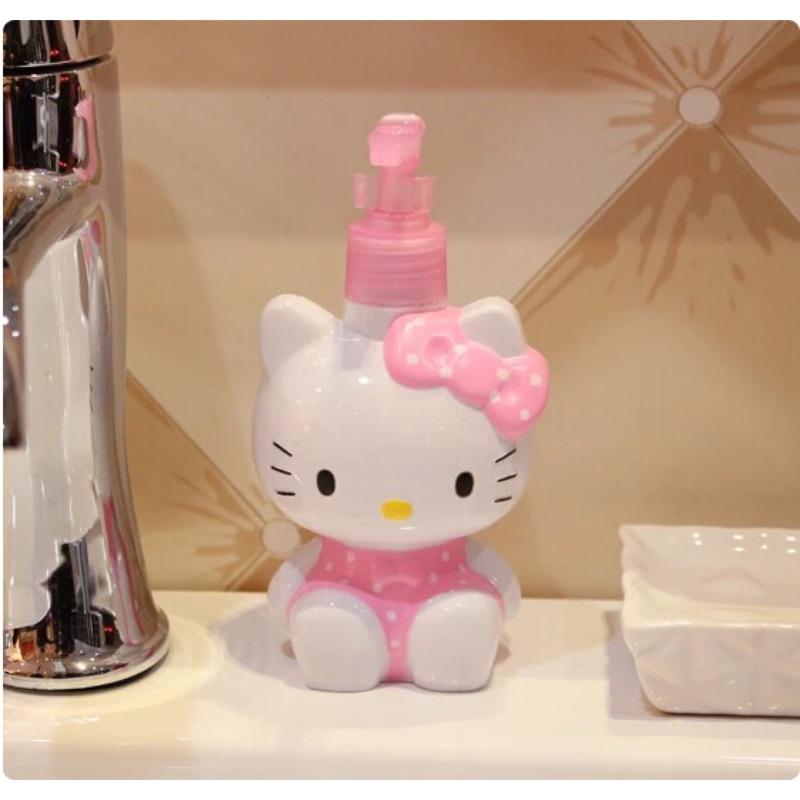 Kitty 擠壓空瓶隨身攜帶款空瓶按壓分裝瓶空罐洗手乳瓶沐浴乳瓶壓嘴瓶乳液瓶分裝瓶洗髮乳液
