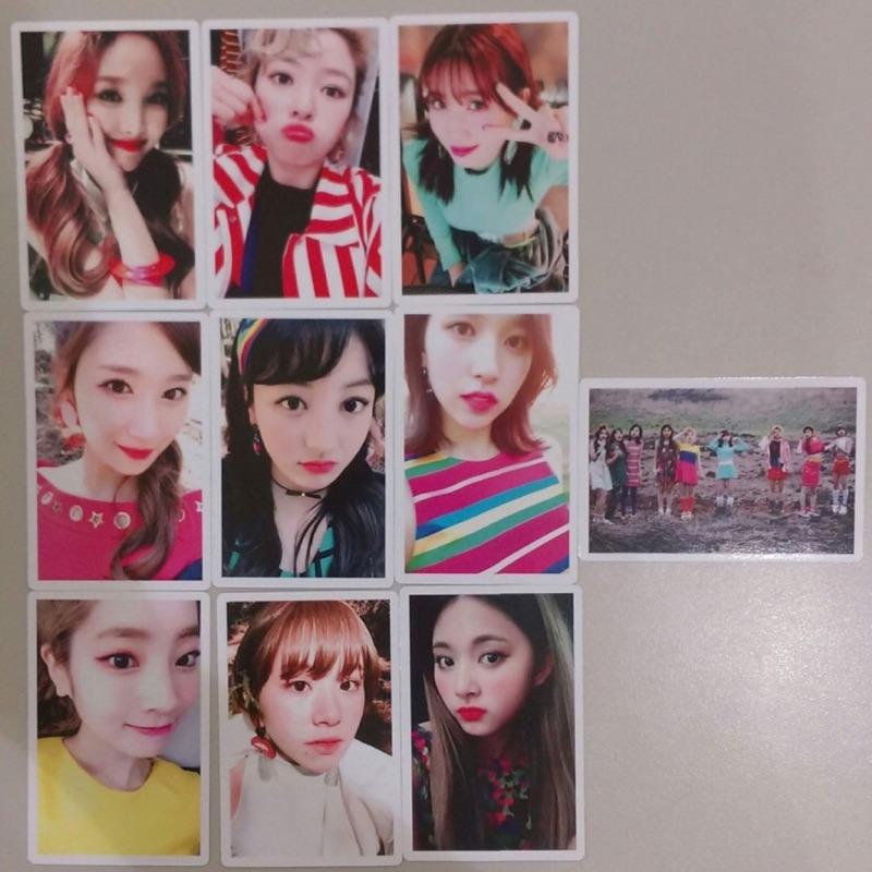TWICE 第四張迷你專輯 禮小卡10 張一組SIGNAL photocard set 特