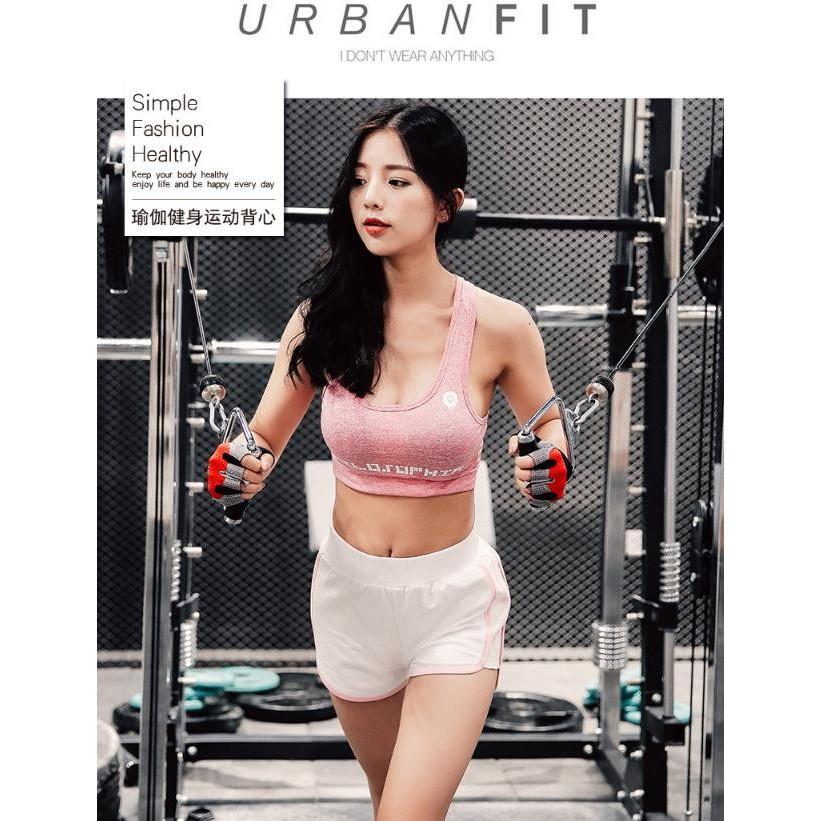 女士瑜伽 高強度背心內衣 文胸跑步訓練速乾文胸