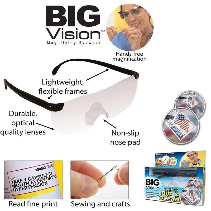 FG Big Vision 眼鏡放大鏡