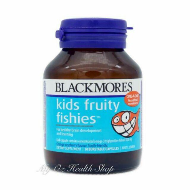 澳洲blackmores 兒童魚油30 粒含DHA omega 3