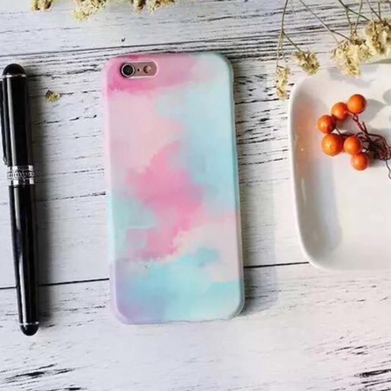 簡約清新彩虹藝術iphone6 6plus iphone7 7plus 手機保護套手機殼