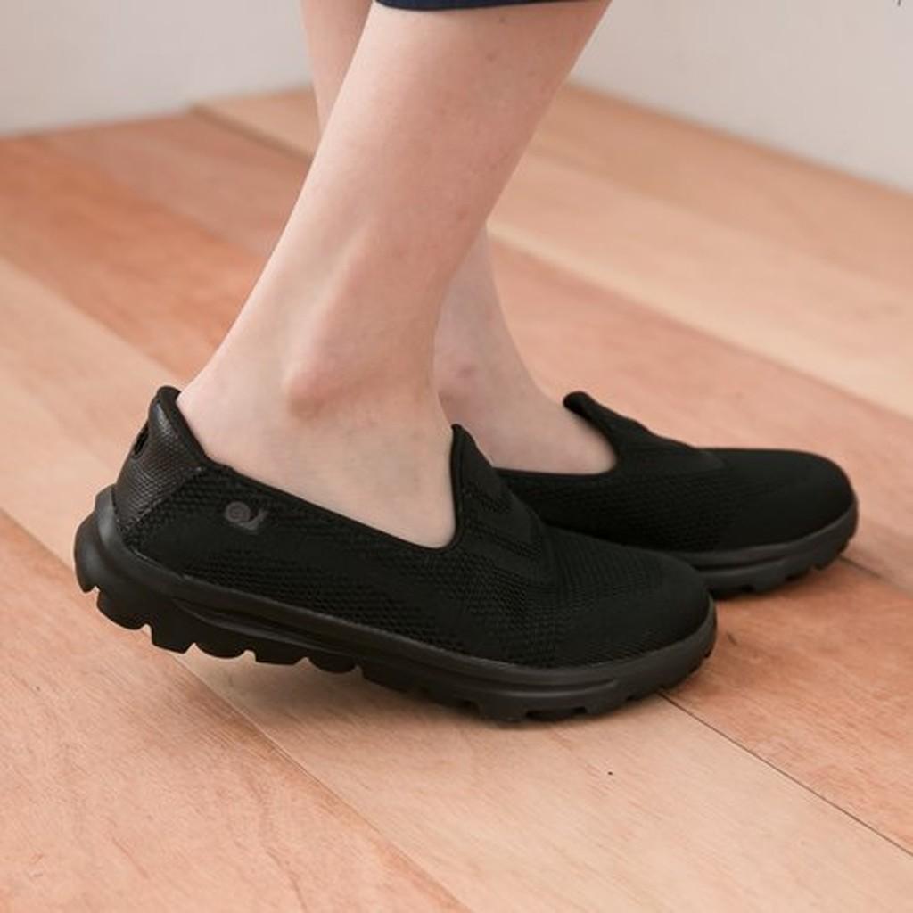 LJB 女款SNAIL 回彈記憶鞋墊舒適透氣休閒健走鞋 鞋朝聖鞋上班鞋