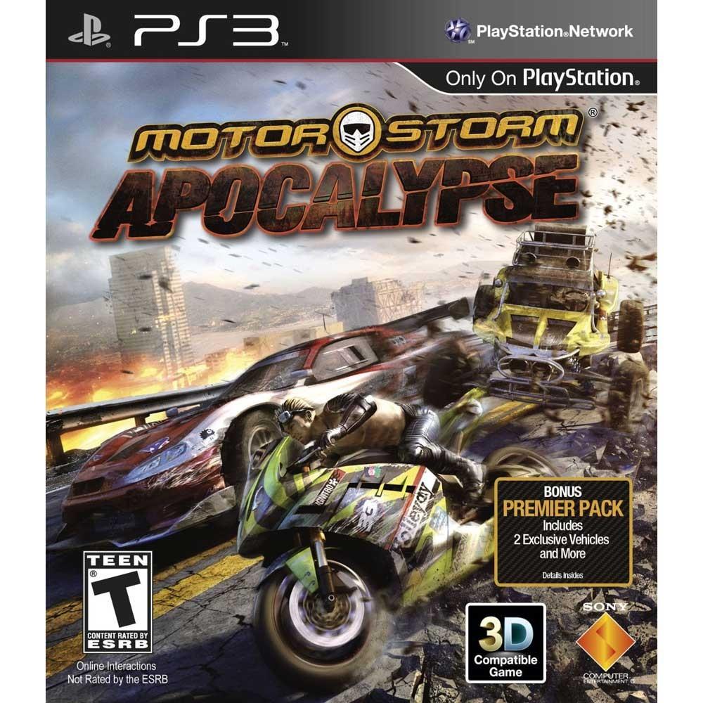 PS3 摩托風暴3 :末日啟示英文美版MotorStorm Apocalypse