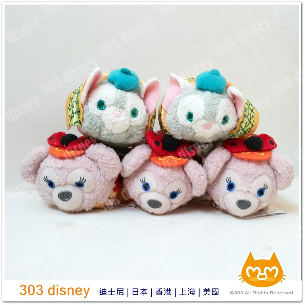 香港迪士尼樂園TSUM TSUM 玩偶螢幕擦萬聖節Shelliemay 畫家貓~303di