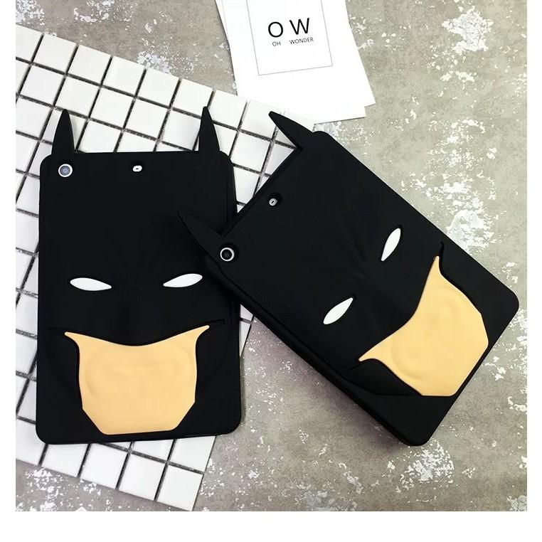 ipad 卡通蝙蝠俠圖案硅膠軟殼ipadmini 防摔軟殼