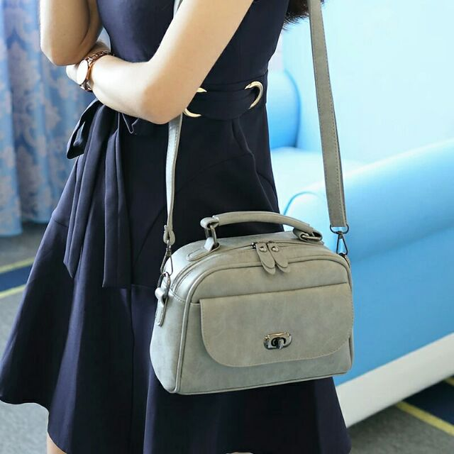 磨砂包包肩背包百搭大小包多隔層郵差包斜背側背手提韓國後背化妝皮夾錢包媽媽包書包