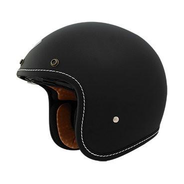 ~安全帽先生~THH T 383A T383A 素色消光黑半罩雙鏡片復古帽安全帽送耐磨長鏡
