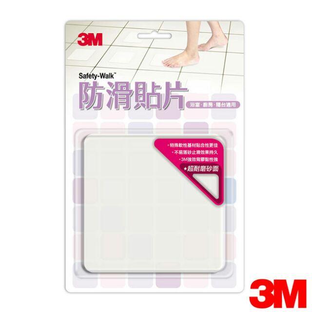 ~3M 特區~ 出貨魔利浴室 防滑貼片透明款6 片裝