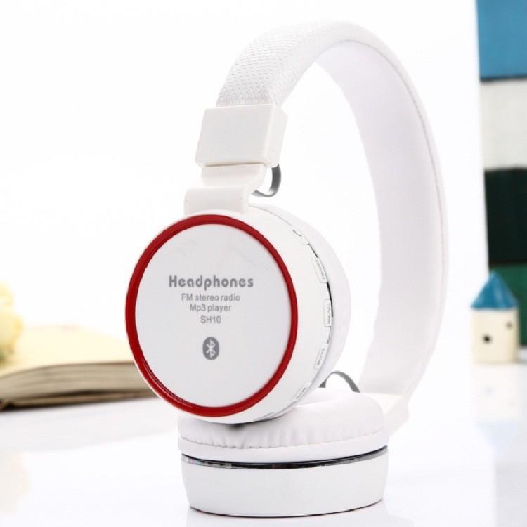 藍牙無線語音耳機耳罩式頭戴式藍牙耳機TF 插卡收音