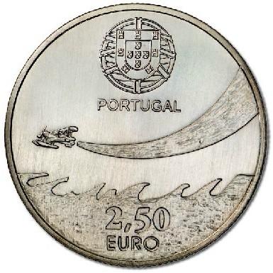 歐洲硬幣系列2014 年葡萄牙軍事航空100 週年2 5 歐元 幣UNC