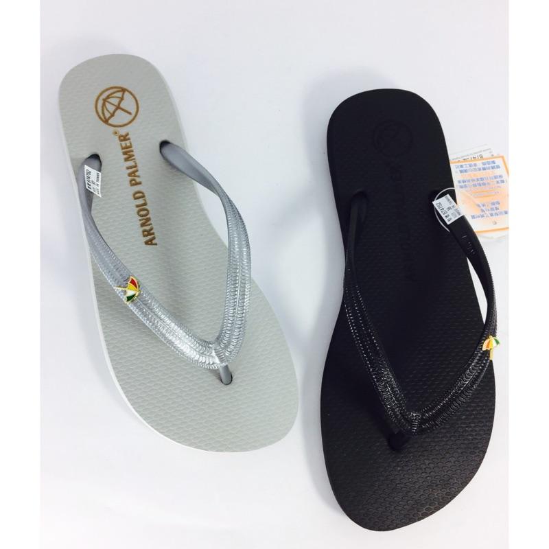 花的貓雨傘牌Arnold Palmer 夾腳拖海灘拖鞋專櫃正品36 40