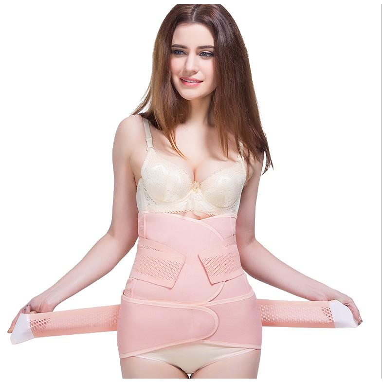 小憨熊束縛帶收腹帶產後產婦月子塑身 薄款順產剖腹產透氣紗布