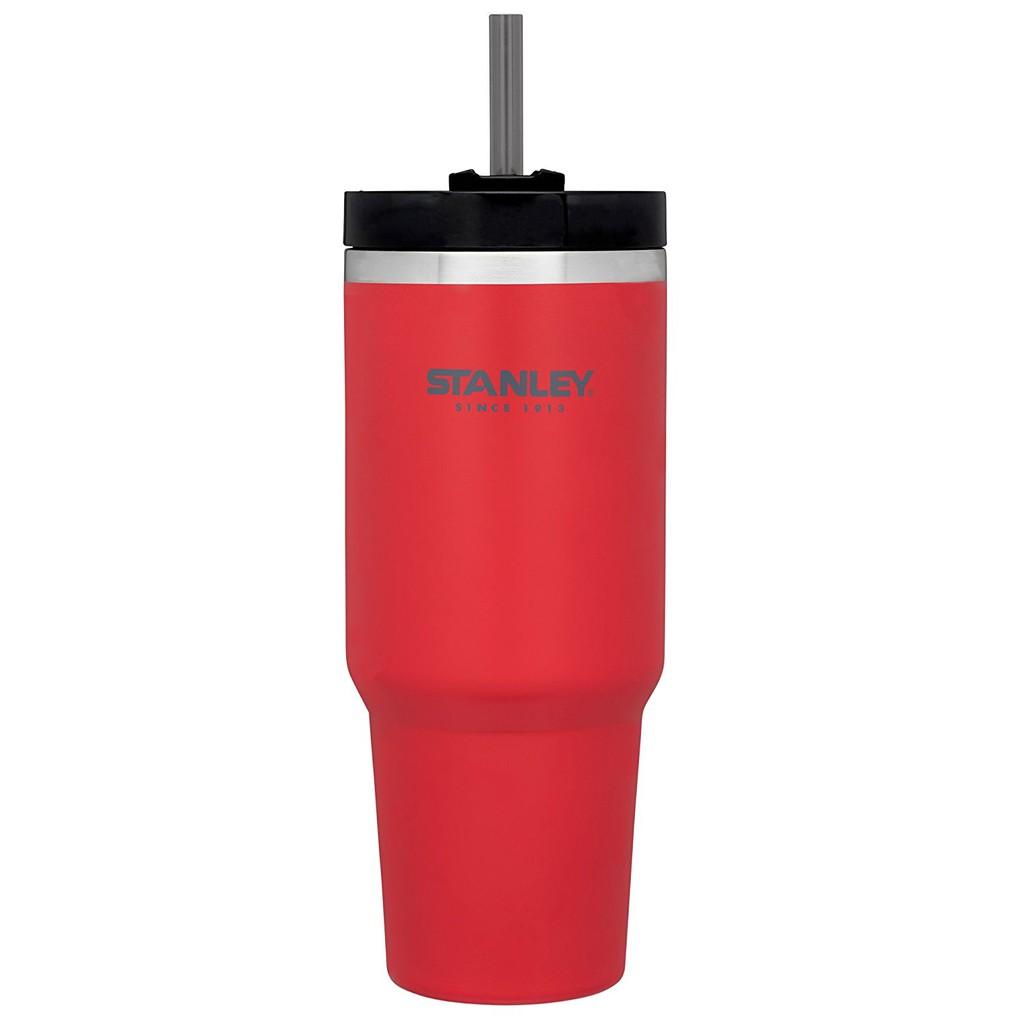 【Stanley】10-02663 紅 美國 冒險系列 吸管隨手杯 0.88L 酷冰杯保溫杯保冰保冷