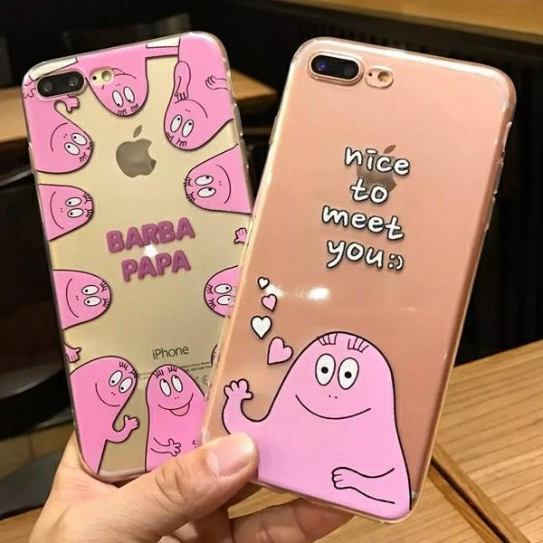 Iphone6 iphone6s iphone7 手機殼❤️泡泡先生BARBAPAPA ~