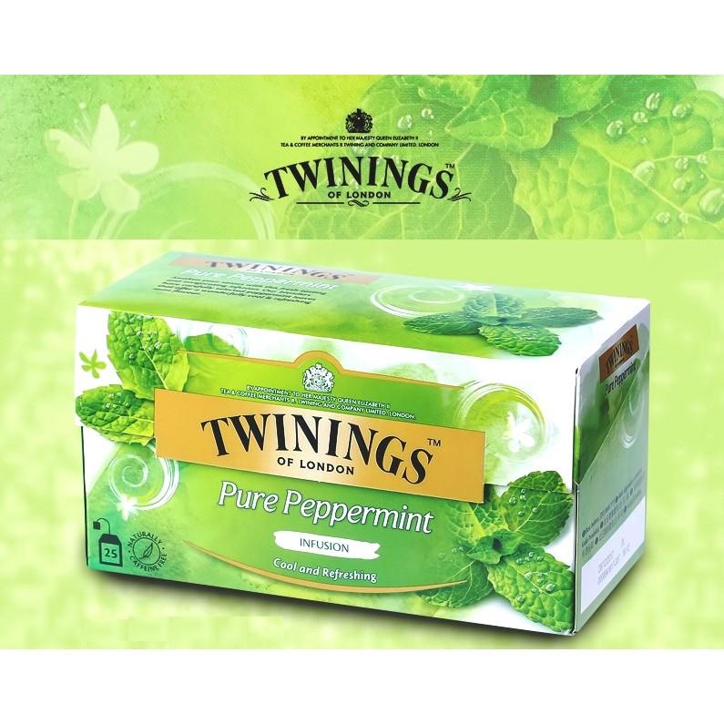 CoCoTea ~唐寧茶沁心薄荷茶包TWININGS Pure Peppermint