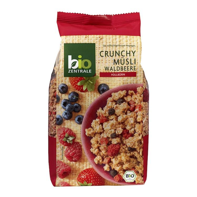 德國有機野莓燕麥脆片375g 包