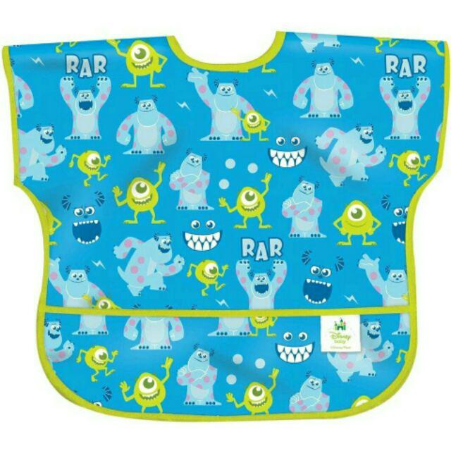 美國Bumkins Junior Bib 防水防臭圍兜口水巾短袖防水圍兜迪士尼1 3 歲