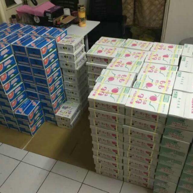 國產100 寶石鮮果凍n 橘子蘋果水蜜桃