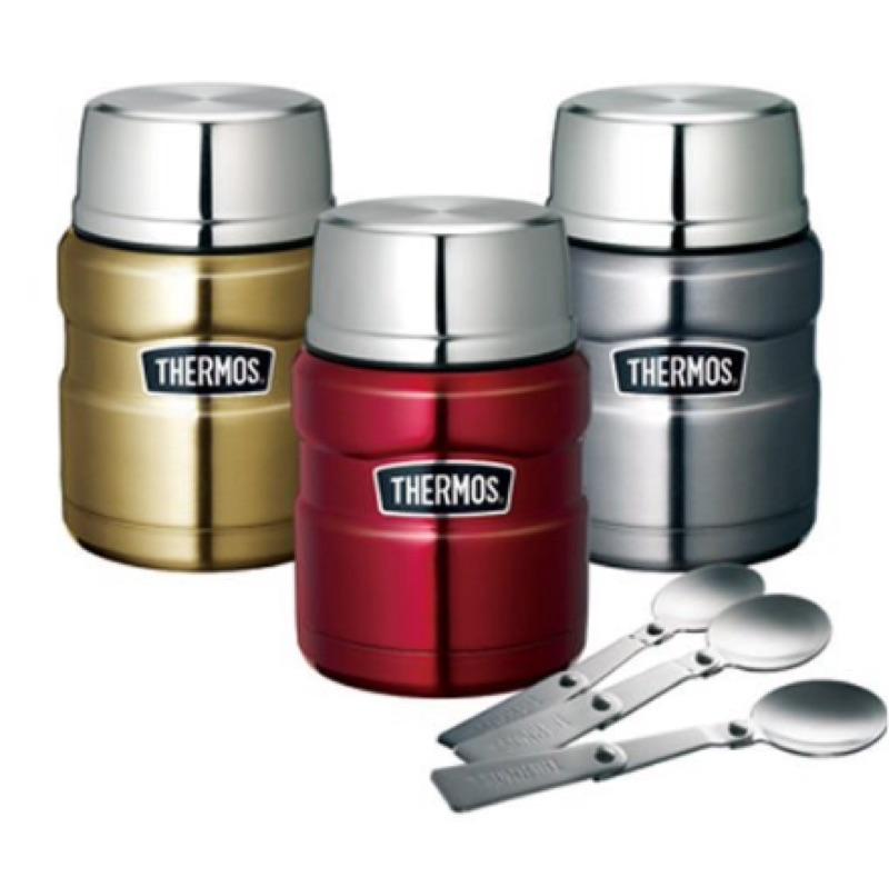 THERMOS 膳魔師不鏽鋼真空食物罐(470ml )、悶燒罐、保溫瓶