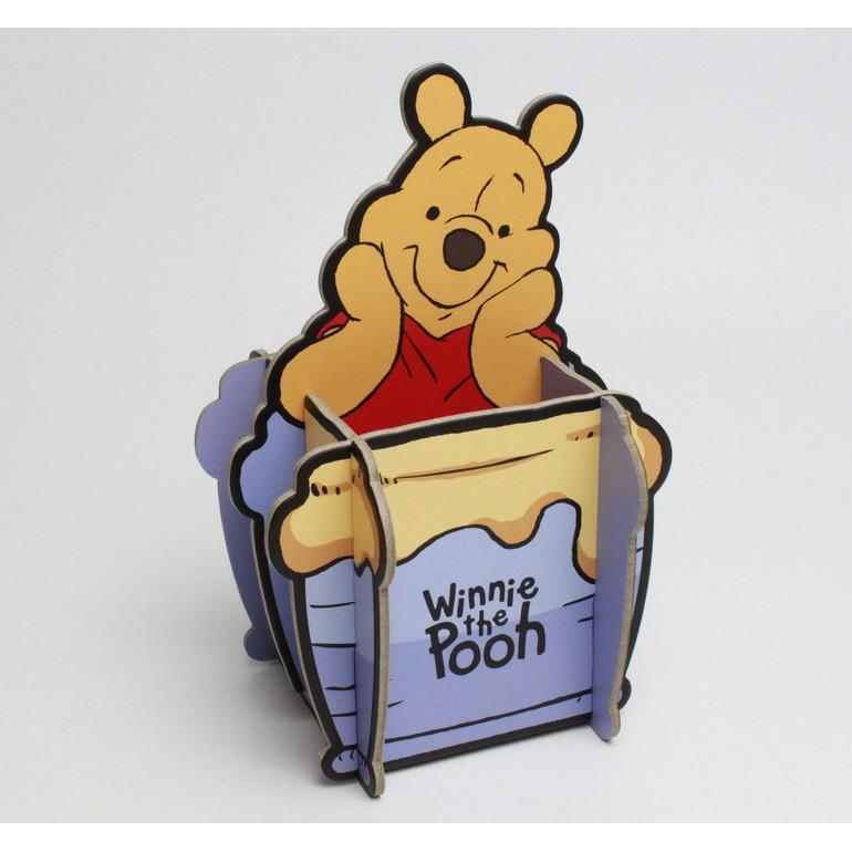 小熊維尼蜂蜜罐款多 名片置物架