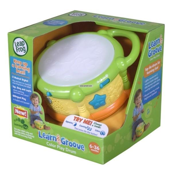 美國LeapFrog 跳跳蛙繽紛彩色學習鼓