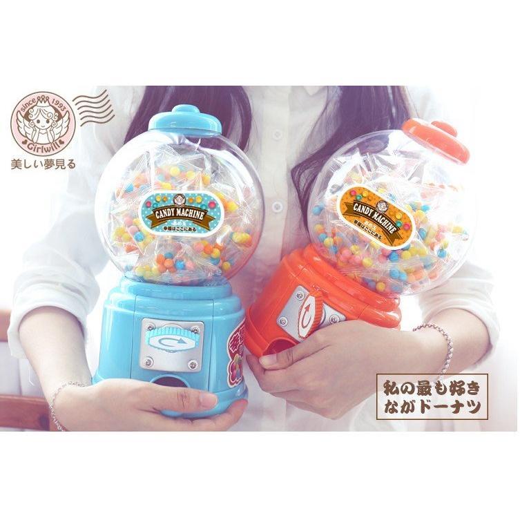 ~大號扭蛋機不含糖果迷你扭糖機扭蛋機共4 色糖果機玩具存錢筒儲錢罐 婚禮小物復古聖誕
